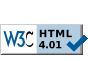 Valid HTML 4.01 Strict